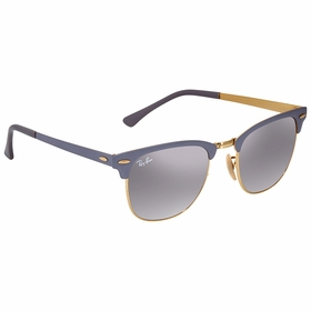 Ray Ban RB37169158AH51 Clubmaster Metal Unisex  Sunglasses