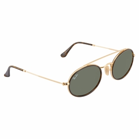 Ray Ban RB3847N 912131 52 Oval Double Bridge Unisex  Sunglasses