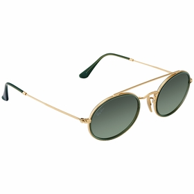 Ray Ban RB3847N 91224M52 Oval Double Bridge Unisex  Sunglasses