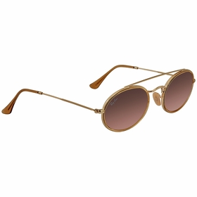 Ray Ban RB3847N 91244352 Oval Double Bridge Unisex  Sunglasses