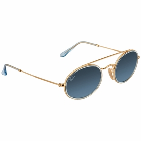 Ray Ban RB3847N91233M52 Oval Double Bridge Unisex  Sunglasses
