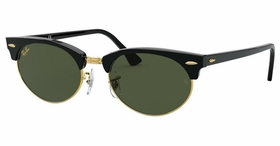 Ray Ban RB3946 130331 52 Clubmaster Oval   Sunglasses