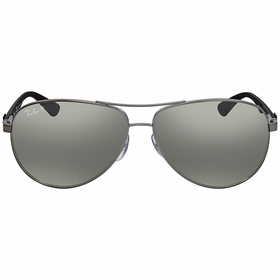 Ray Ban RB8313 004/K6 61 Aviator Carbon Fibre Mens  Sunglasses