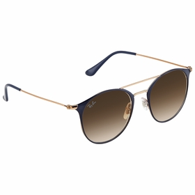 Ray Ban Steel  Unisex  Sunglasses