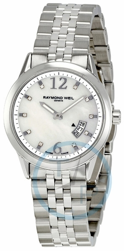Raymond Weil 5670-ST-05985 Freelancer Ladies Quartz Watch