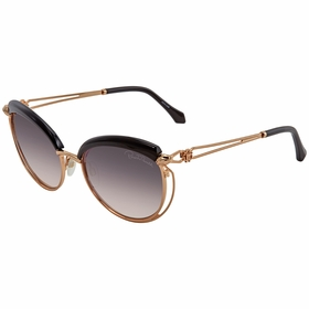 Roberto Cavalli RC1032 01B 56  Ladies  Sunglasses