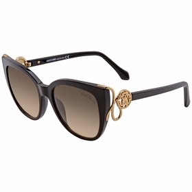 Roberto Cavalli RC1063 01B 54  Ladies  Sunglasses