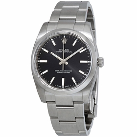 Rolex 114200BKSO Oyster Perpetual 34 Ladies Automatic Watch