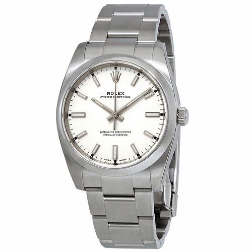 Rolex 114200WSO Oyster Perpetual Mens Automatic Watch