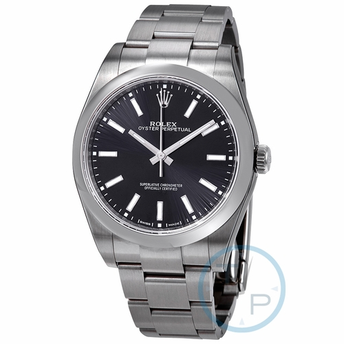Rolex 114300BKSO Oyster Perpetual Mens Automatic Watch