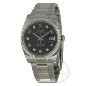 Rolex 115234BKDO Oyster Perpetual Date 34 Mens Automatic Watch