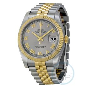 Rolex 116233GYRJ Oyster Perpetual Datejust 36 Mens Automatic Watch