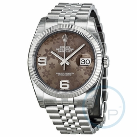Rolex 116234BRAFJ Oyster Perpetual Datejust 36 Ladies Automatic Watch