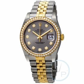 Rolex 116243GYDJ DateJust 36 Ladies Automatic Watch