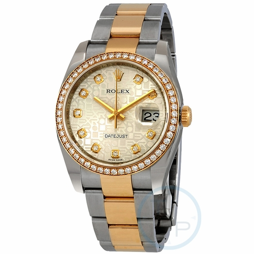 Rolex 116243SJDO Oyster Perpetual Datejust 36 Ladies Automatic Watch