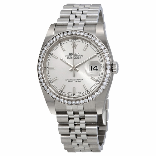 Rolex 116244SSJ Oyster Perpetual Datejust 36 Ladies Automatic Watch
