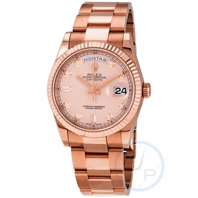 Rolex 118235IVDP Day-Date Unisex Automatic Watch