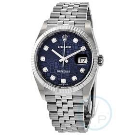 Rolex 126234BLJDJ Datejust 36 Ladies Automatic Watch