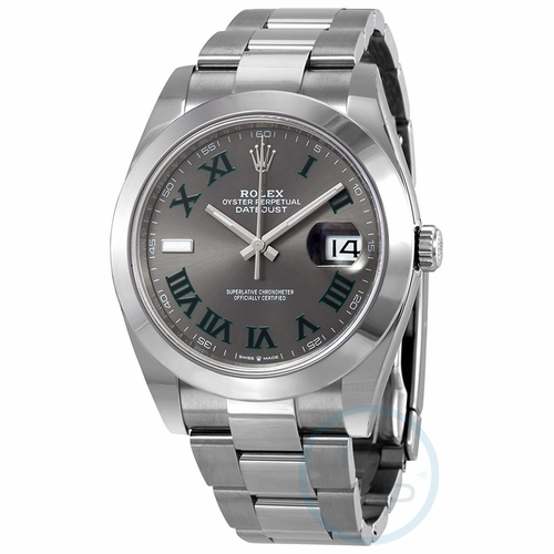 Rolex 126300GYRO Datejust 41 Mens Automatic Watch
