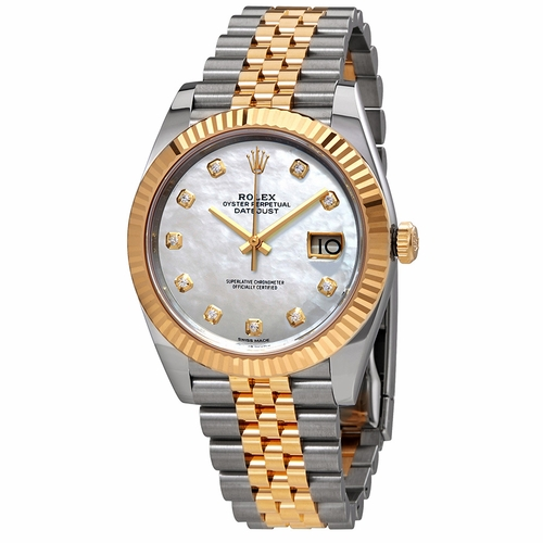Rolex 126333MDJ Datejust 41 Mens Automatic Watch