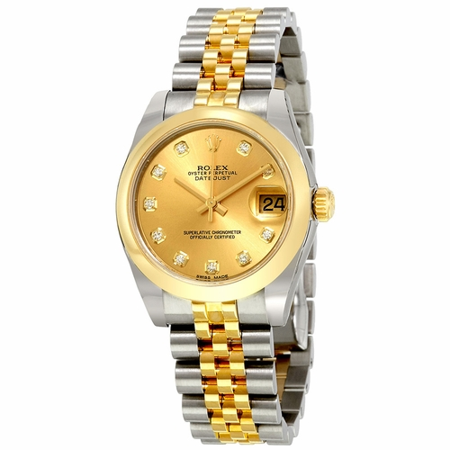 Rolex 178243CDJ Oyster Perpetual Datejust 31 Ladies Automatic Watch