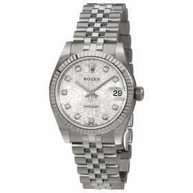 Rolex 178274SJDJ Datejust Lady 31 Ladies Automatic Watch