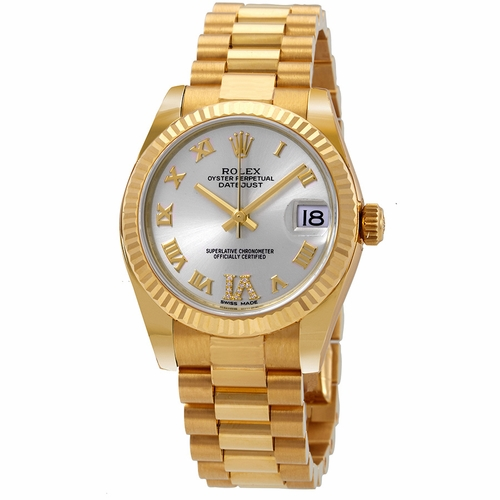 Rolex 178278SRDP Datejust Ladies Automatic Watch