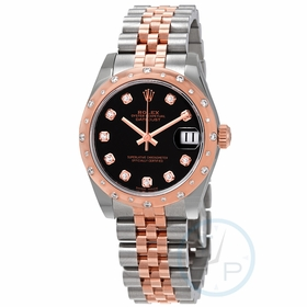 Rolex 178341BKDJ Datejust 31 Ladies Automatic Watch