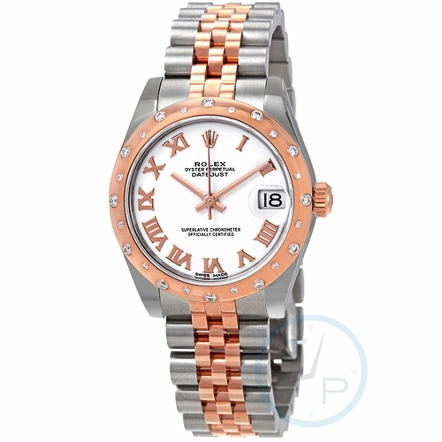 Rolex 178341WRJ Datejust 31 Ladies Automatic Watch
