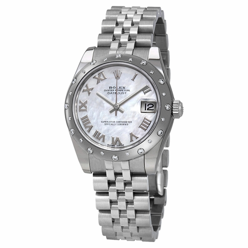 Rolex 178344MRJ Oyster Perpetual Datejust 31 Ladies Automatic Watch