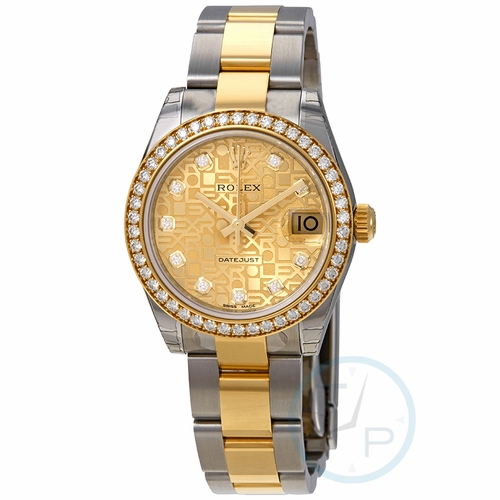 Rolex 178383CJDO Datejust 31 Ladies Automatic Watch
