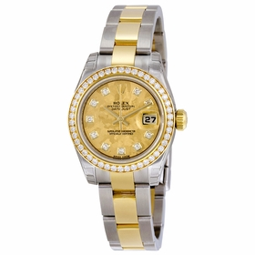 Rolex 179383YGCDO Lady Datejust 26 Ladies Automatic Watch