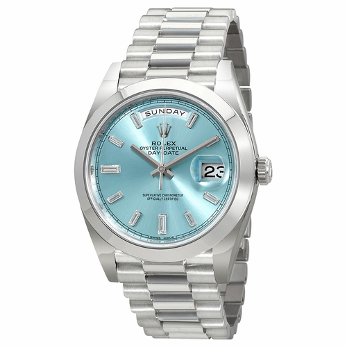 Rolex 228206IBLDP Oyster Perpetual Day-Date 40 Mens Automatic Watch