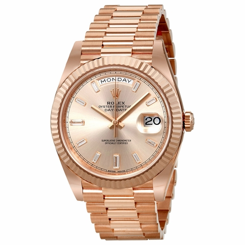 Rolex 228235SNDP President Mens Automatic Watch