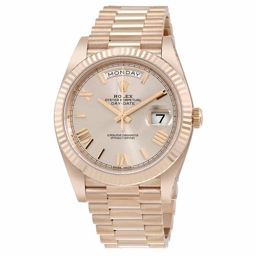 Rolex 228235SNRP Day-Date 40 Mens Automatic Watch