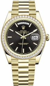 Rolex 228348BKSP Day-Date 40 Mens Automatic Watch