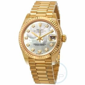 Rolex 278278MDP Datejust 31 Ladies Automatic Watch