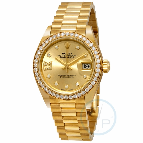 Rolex 279138CRDP Lady Datejust 28 Ladies Automatic Watch