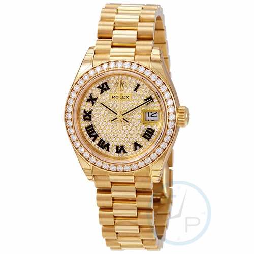 Rolex 279138DRP Lady-Datejust 28 Ladies Automatic Watch