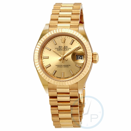Rolex 279178CSP Oyster Perpetual Lady Datejust Mens Automatic Watch