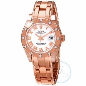 Rolex 80315WRPM Lady-Datejust Pearlmaster Ladies Automatic Watch