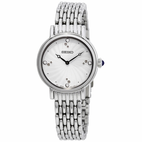 Seiko SFQ805P1 Swarovski Crystals Ladies Quartz Watch