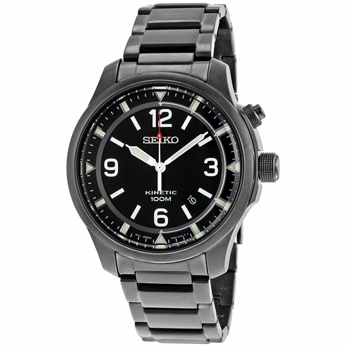 Seiko SKA687 Kinetic Mens Auto-Quartz Watch