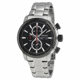 Seiko SNAF47  Mens Chronograph Quartz Watch
