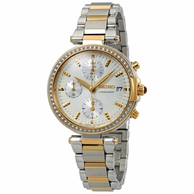 Seiko SNDV42P1 Chronograph Ladies Chronograph Quartz Watch