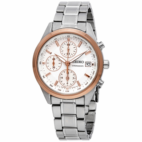 Seiko SNDV56 Chronograph Ladies Chronograph Quartz Watch