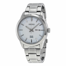 Seiko SNE359P1S Solar Mens Quartz Watch