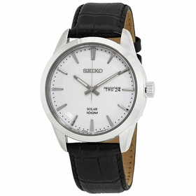 Seiko SNE359P2 Solar Mens Quartz Watch