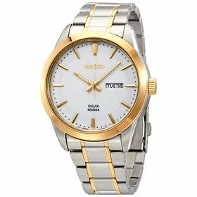 Seiko SNE364P1S Solar Mens Eco-Drive Watch