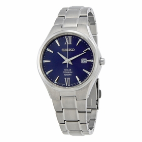 Seiko SNE407 Solar Mens Eco-Drive Watch